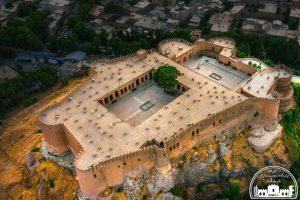 نمای بالای قلعه فلک الافلاک - سایت لرم